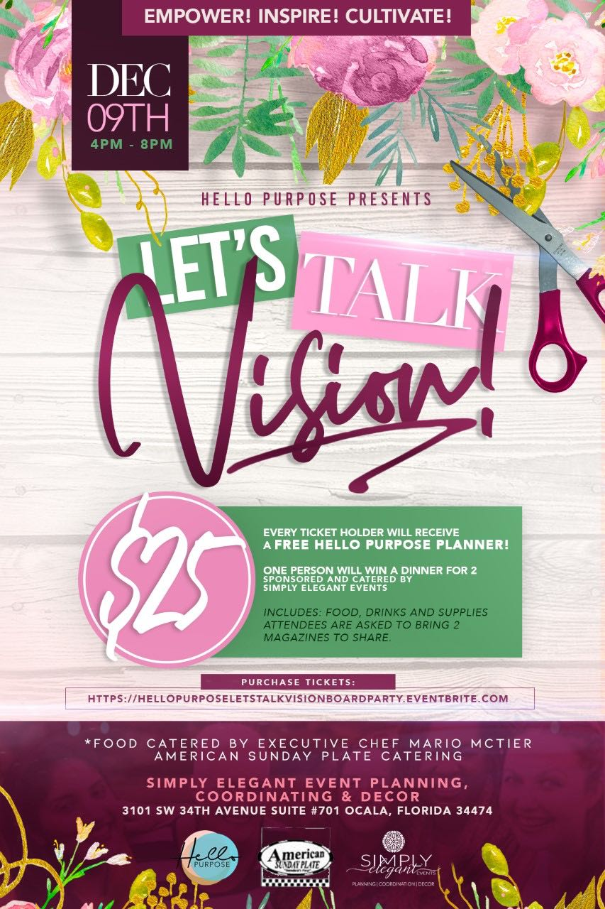 Vision Board Party 2018