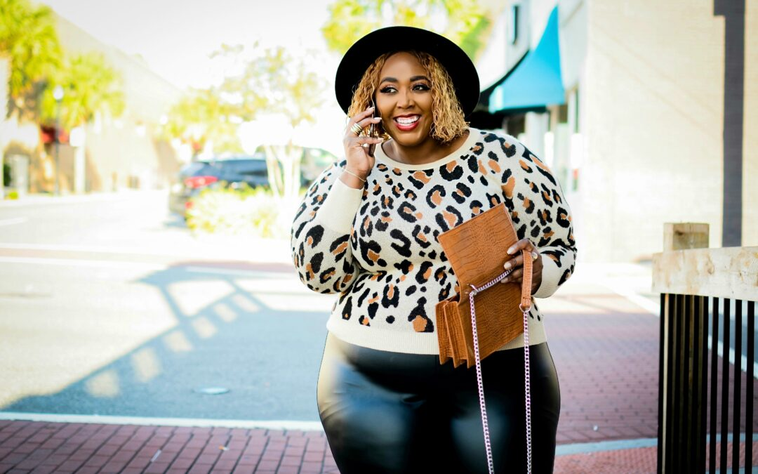 Leather and Leopard: Fall Fashion