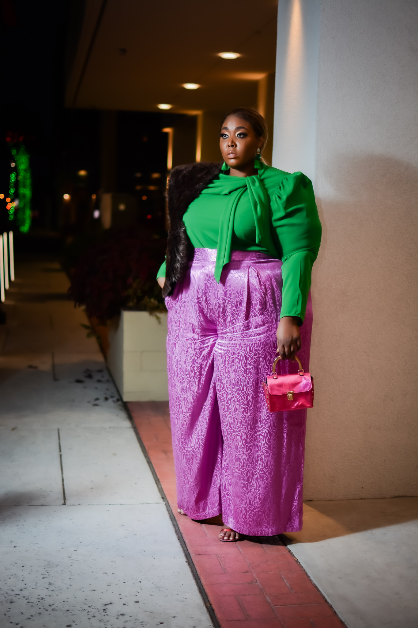 Plus size holiday wear